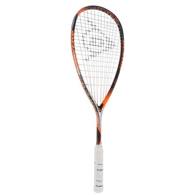 Dunlop Hyperfibre Plus Revelation 135 Squash Racket Double Pack - Angled