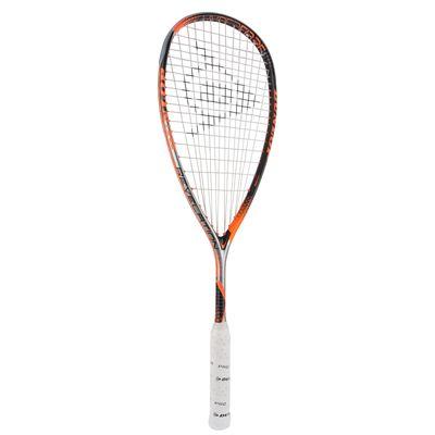 Dunlop Hyperfibre Plus Revelation 135 Squash Racket Double Pack - Angled