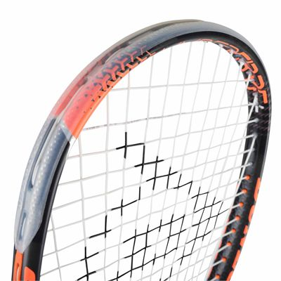 Dunlop Hyperfibre Plus Revelation 135 Squash Racket - Above