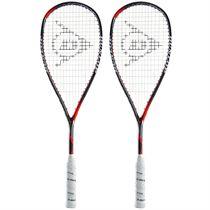 Dunlop Hyperfibre Plus Revelation Pro Lite Squash Racket Double Pack