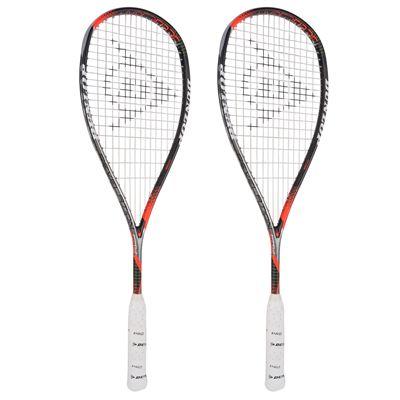 Dunlop Hyperfibre Plus Revelation Pro Ali Farag Squash Racket - Angled