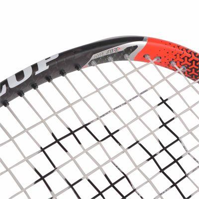 Dunlop Hyperfibre Plus Revelation Pro Ali Farag Squash Racket - Zoomed