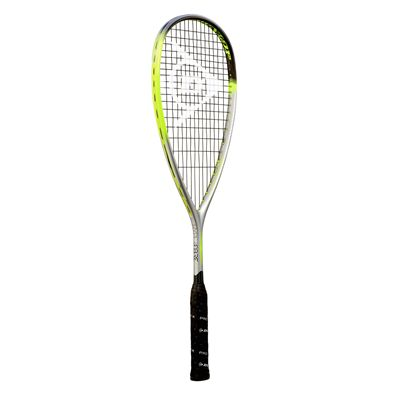Dunlop Hyperfibre XT Revelation 125 Squash Racket Double Pack - Angled