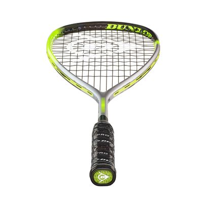 Dunlop Hyperfibre XT Revelation 125 Squash Racket Double Pack - Bottom