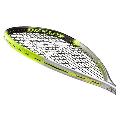 Dunlop Hyperfibre XT Revelation 125 Squash Racket Double Pack - Slant