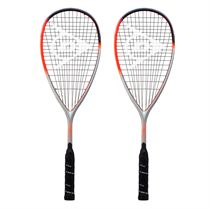Dunlop Hyperfibre XT Revelation 135 Squash Racket Double Pack
