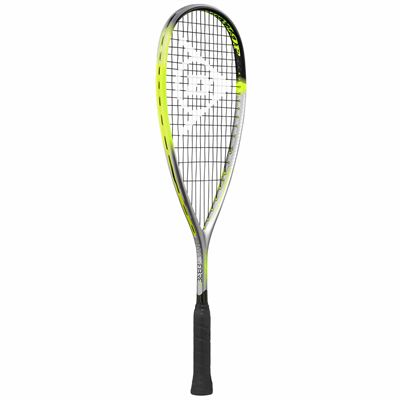 Dunlop Hyperfibre XT Revelation Junior Squash Racket Double Pack - Angled