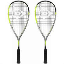 Dunlop Hyperfibre XT Revelation Junior Squash Racket Double Pack