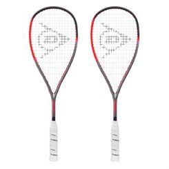 Dunlop Hyperfibre XT Revelation Pro Lite Squash Racket Double Pack