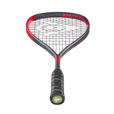 Dunlop Hyperfibre XT Revelation Pro Squash Racket Double Pack - Bottom