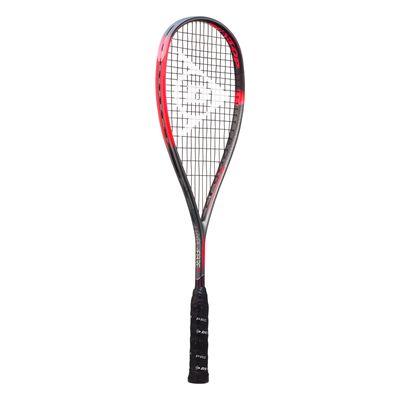 Dunlop Hyperfibre XT Revelation Pro Squash Racket - Angled