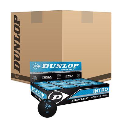 Dunlop Intro Squash Balls 6 Dozen
