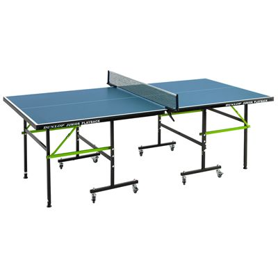 Dunlop Junior Playback Indoor Table Tennis Table - Open