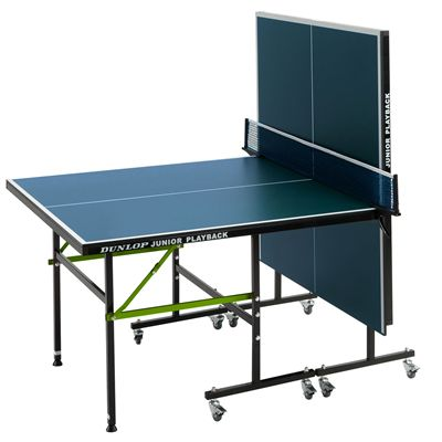 Dunlop Junior Playback Indoor Table Tennis Table - Playback