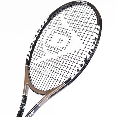 Dunlop Muscle Weave 200 G Tennis Racket - Head View