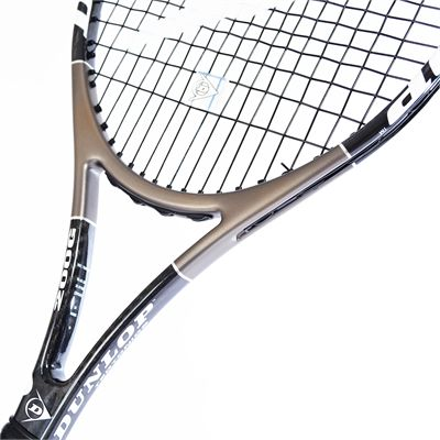 Dunlop Muscle Weave 200 G Tennis Racket - Throat View