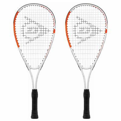 Dunlop Play Mini Squash Racket Double Pack 2019