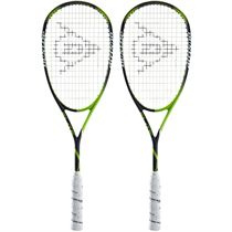 Dunlop Precision Elite Squash Racket Double Pack