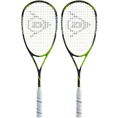 Dunlop Precision Elite Squash Racket Double Pack AW18