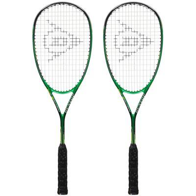 Dunlop Precision Elite Squash Racket Double Pack
