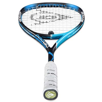 Dunlop Precision Pro 130 Squash Racket Double Pack AW18 - Grip