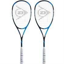 Dunlop Precision Pro 130 Squash Racket Double Pack