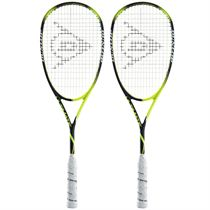 Dunlop Precision Ultimate Squash Racket Double Pack