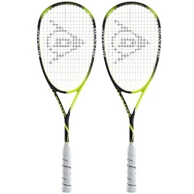 Dunlop Precision Ultimate Squash Racket Double Pack AW18