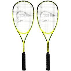 Dunlop Precision Ultimate Squash Racket Double Pack