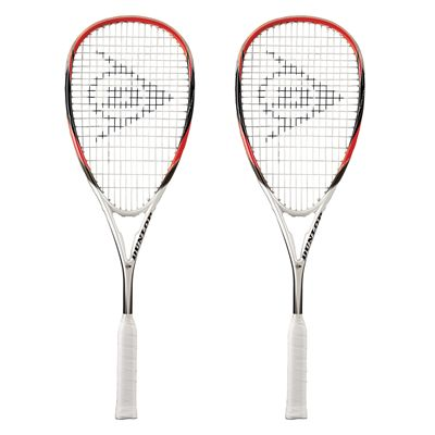 Dunlop Predator 50 Squash Racket Double Pack