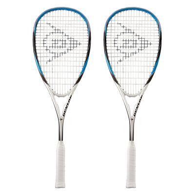 Dunlop Predator 60 Squash Racket Double Pack