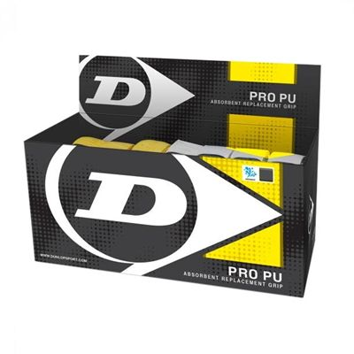 Dunlop Pro PU Overgrips - Box of 24