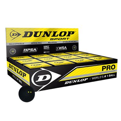 Dunlop Pro Squash Balls - 1 dozen 2014