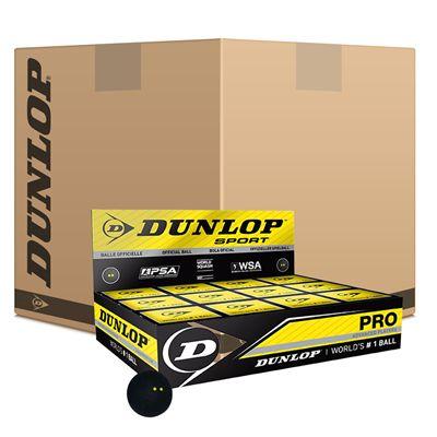 Dunlop Pro Squash Balls - 6doz