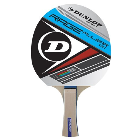 Dunlop Rage Pulsar Table Tennis Bat