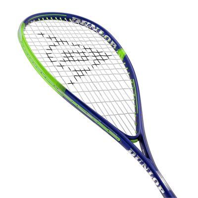 Dunlop Sonic Core Evolution 120 Squash Racket - Bottom - Angle