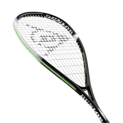 Dunlop Sonic Core Evolution 130 Squash Racket - Angle