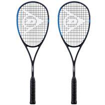 Dunlop Sonic Core Pro 130 Squash Racket Double Pack