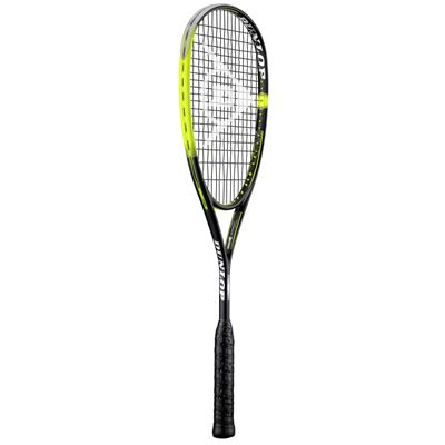 Dunlop Sonic Core Ultimate 132 Squash Racket Double Pack - Angle