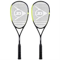 Dunlop Sonic Core Ultimate 132 Squash Racket Double Pack