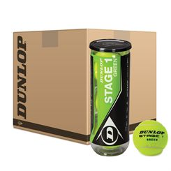 Dunlop Stage 1 Green Mini Tennis Balls - 5 Dozen