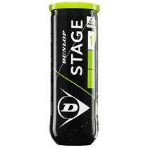 Dunlop Stage 1 Green Mini Tennis Balls - Tube of 3 2019