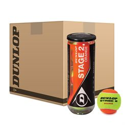 Dunlop Stage 2 Orange Mini Tennis Balls - 5 Dozen