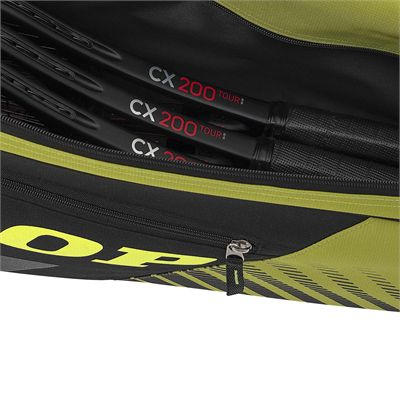 Dunlop SX Club 3 Racket Bag - Rackets