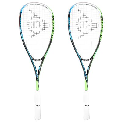 Dunlop Tempo Elite Squash Racket Double Pack