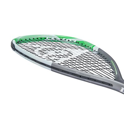 Dunlop Tempo Pro TD Squash Racket - Angle