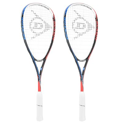 Dunlop Tempo Tour Squash Racket Double Pack