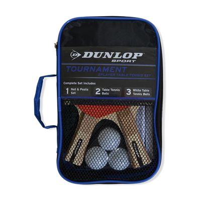 Dunlop Tournament Two Player Table Tennis Set