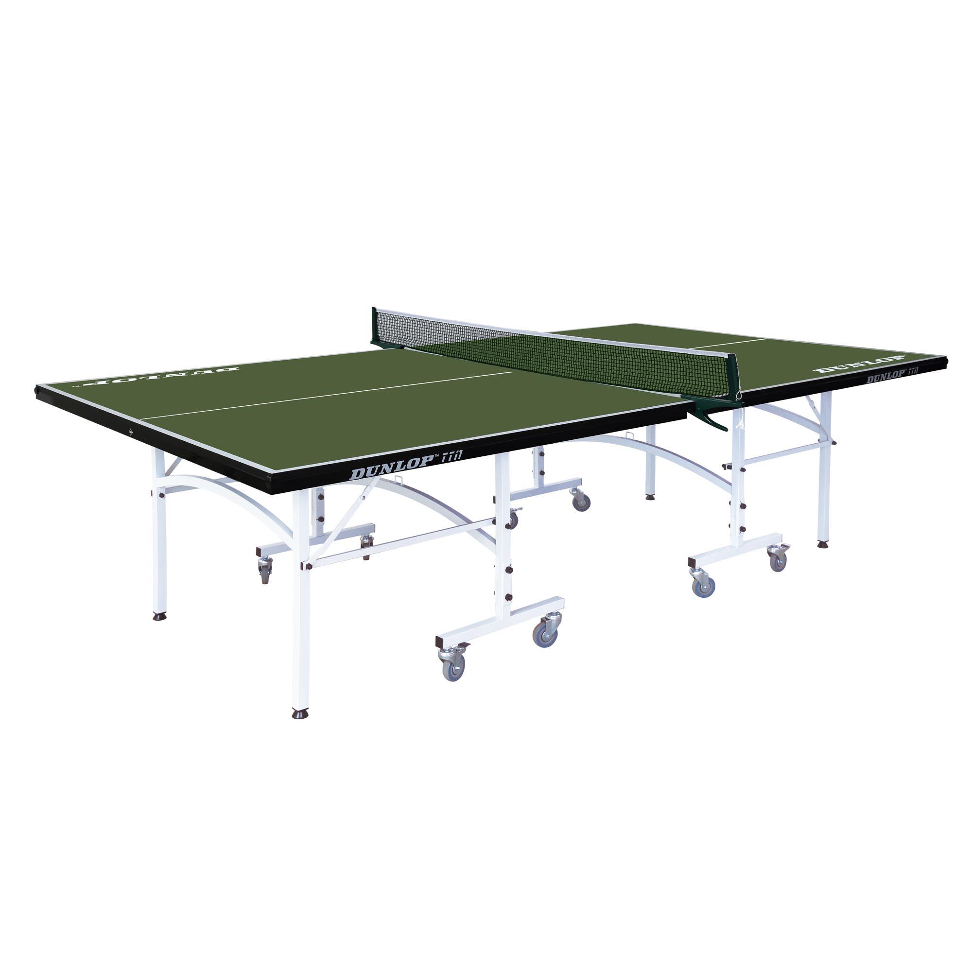 Dunlop TTi1 Indoor Table Tennis Table  Green