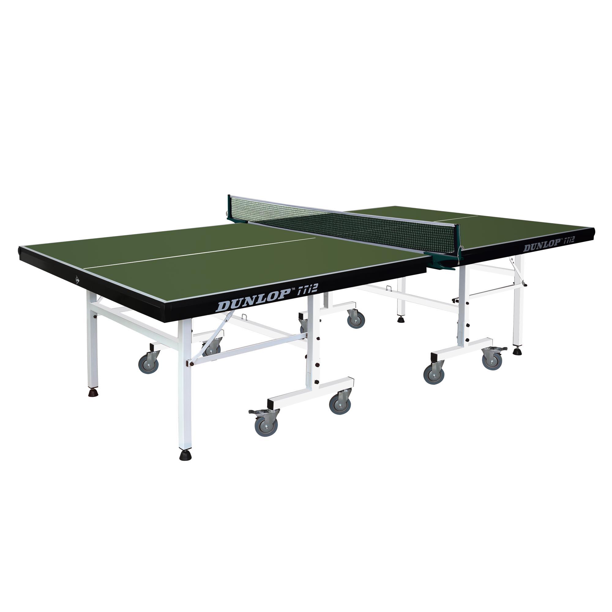 Dunlop TTi2 Indoor Table Tennis Table  Green